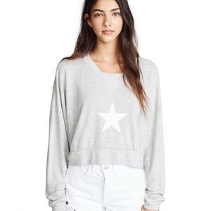 Wildfox Tops - Wildfox Nella All Star Pullover Sweatshirt Size XL